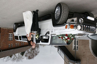 Hummer Stretch Limo wedding
